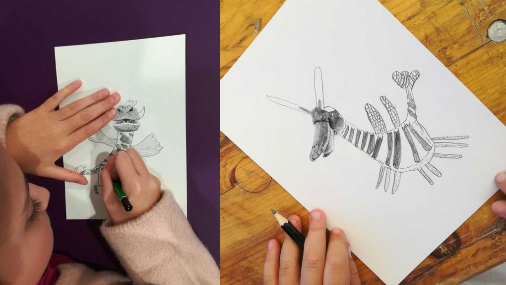 Ateliers créatifs : détour-nez des Ateliers écotones © Ateliers écotones
