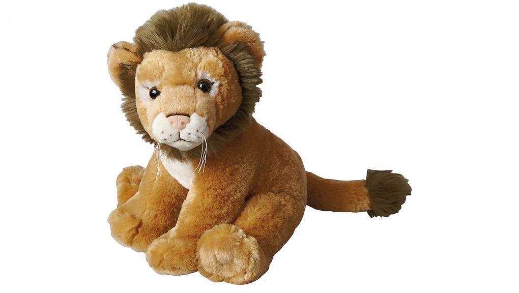 Peluche lion © MNHN