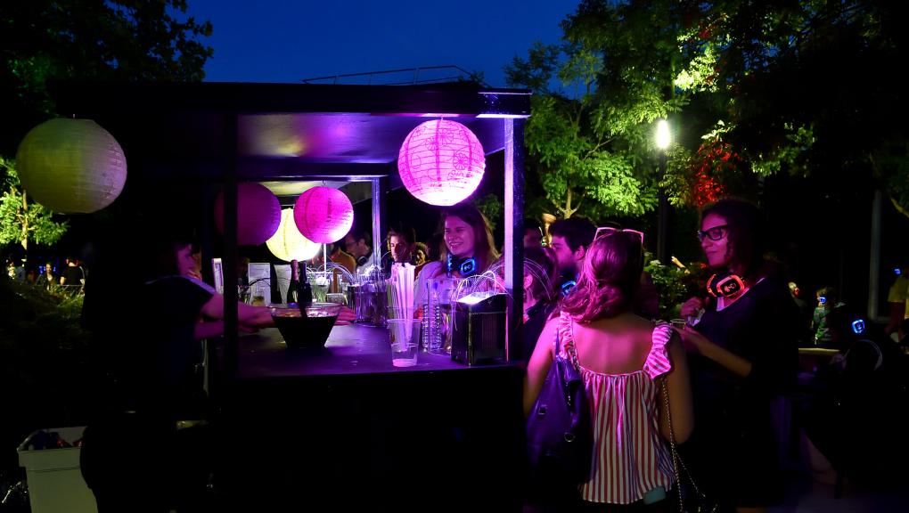 Bar éphémère - Nocturnes au Parc zoologique de Paris © MNHN – F-G. Grandin