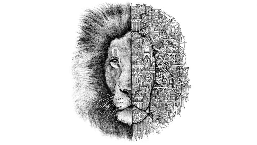 Les animaux mécaniques - Lion © ARDIF