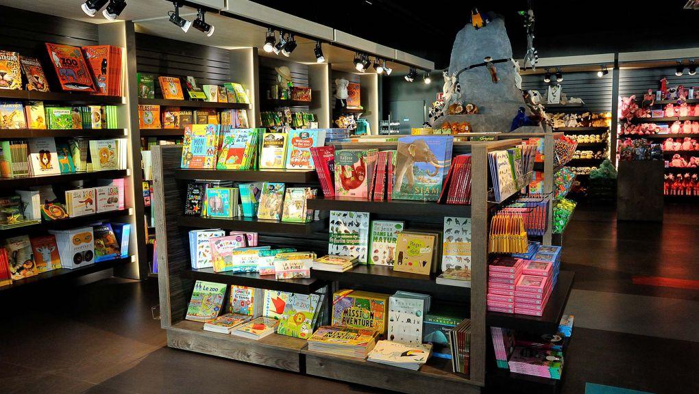 Boutique-librairie du Parc zoologique de Paris © F-G Grandin - MNHN