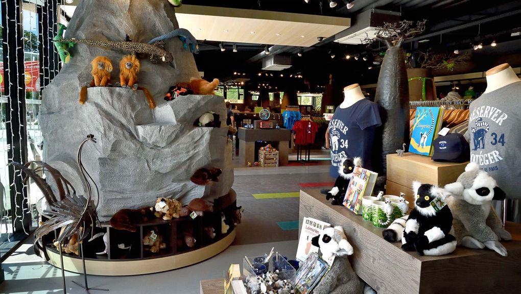 Boutique du Parc zoologique de Paris © F-G Grandin - MNHN