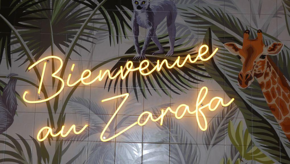 Fresque du Zarafa © Stéphane Durieu