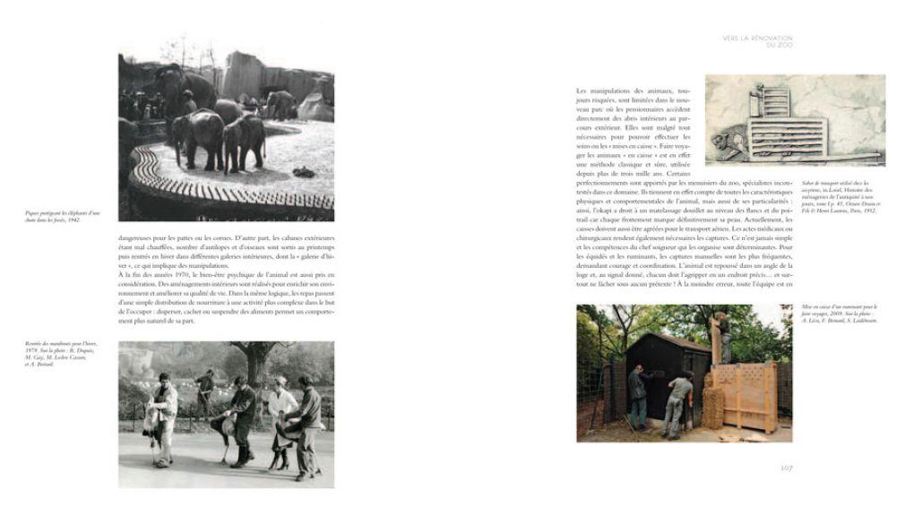 """Extrait 6 de l'ouvrage """"Le Parc Zoologique de Paris, des origines à la rénovation"""""""