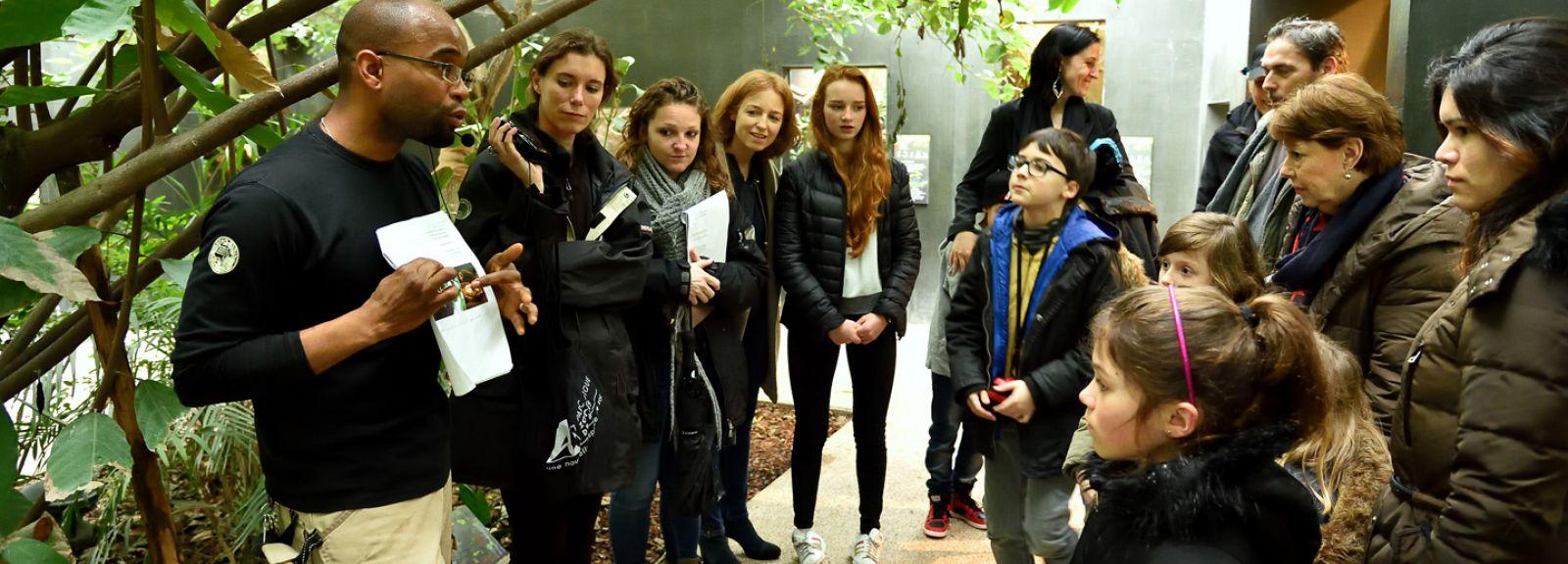 Visite guidée au Parc Zoologique de Paris © F-G Grandin - MNHN