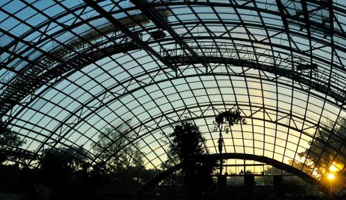Une architecture intégrée dans les paysages © MNHN - F-G Grandin