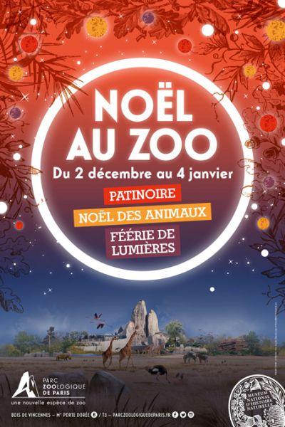Noël 2016 au Parc Zoologique de Paris © MNHN