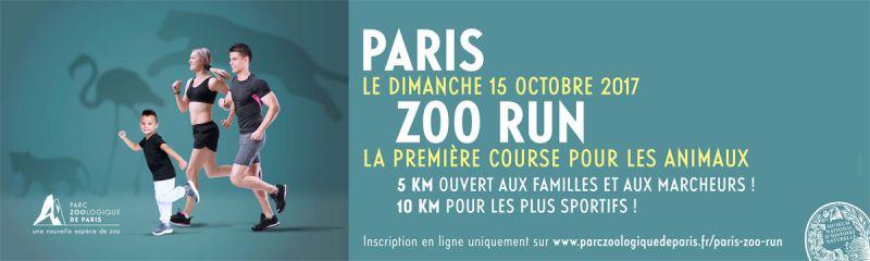 Affiche de l'événement Paris Zoo Run