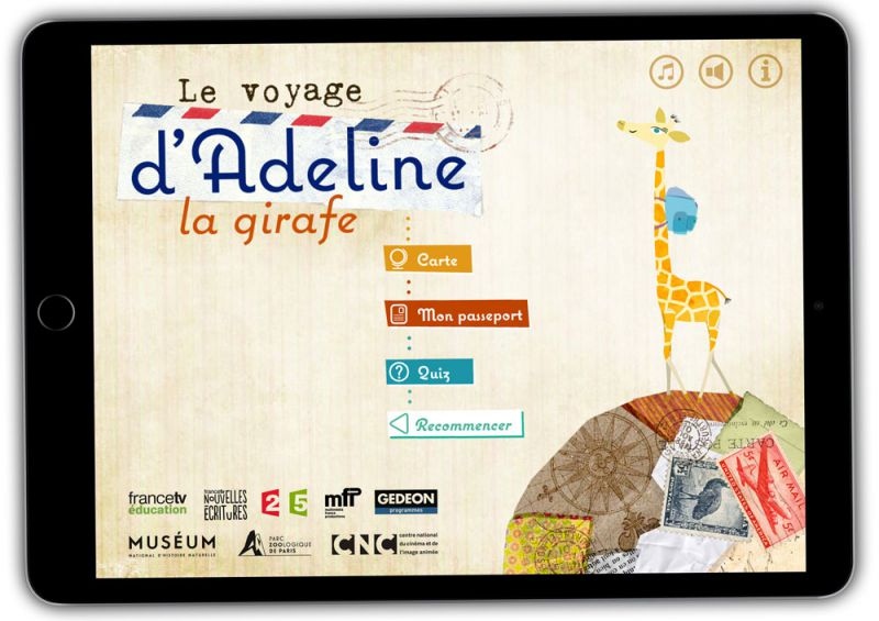 Application mobile : le voyage d'Adeline